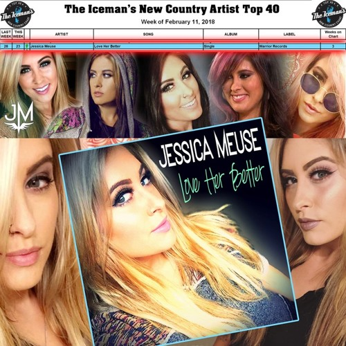 Jessica Meuse - Love Her Better | #23 on The Iceman's Top 40 Country Countdown
