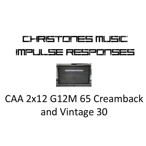 Demo: CTM CAA 2x12 G12M 65 Creamback and Vintage 30 IRs