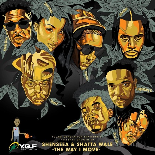 Shenseea ft. Shatta Wale - The Way I Move (Official Audio) - Dancehall 2018