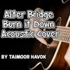 Burn it Down, Acoustic (Alter Bridge Cover)