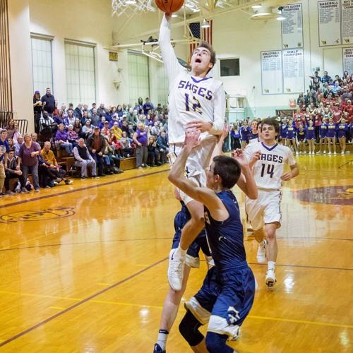 Monticello basketball player Calvin Fisher