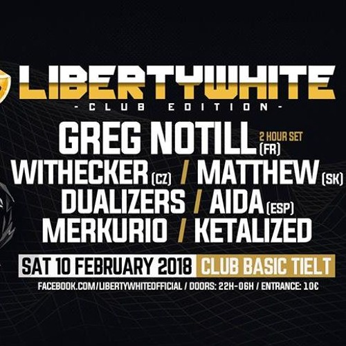 Matthew@Liberty White 2018, Club Basic, Tielt, Belgium (10.2.2018)