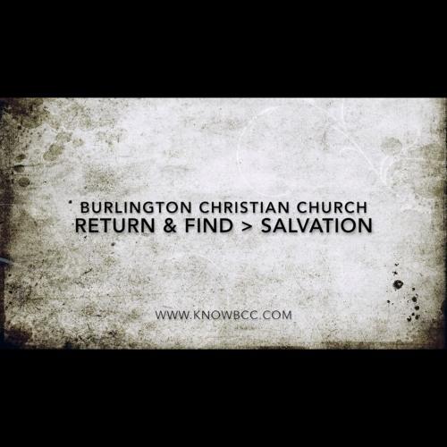 Return & Find - Salvation