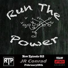 JR Conrad - Playing for Bill Parcells & Starting as a True Freshman at Oklahoma EP 013