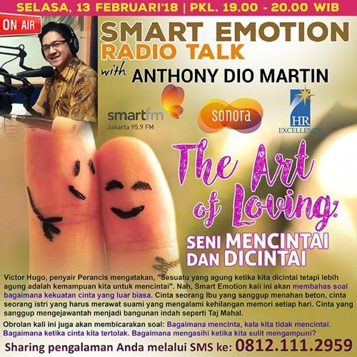 """Smart Emotion 13 Februari 2018: """"The Art of Loving: Seni Mencintai dan Dicintai"""""""