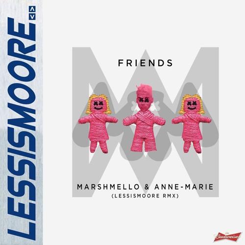 Friends marshmello anne