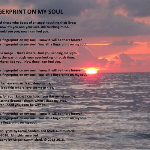 Fingerprint On My Soul Music And Lyrics 2 By Mark Richard