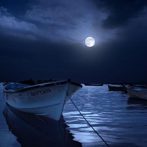 A crescent moon__DJVeliero___2014