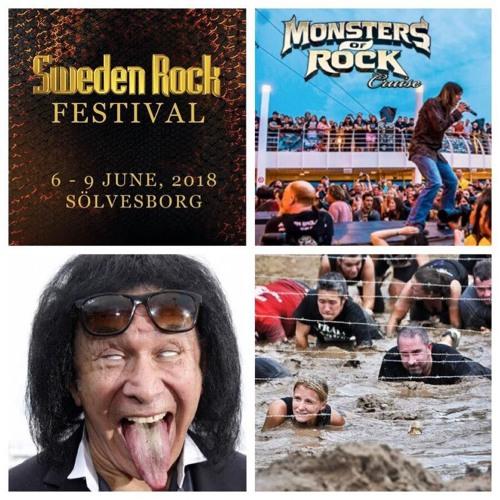 EP 114: Sweden Rock, Jerking Off On Monsters of Rock Cruise, Simmons vs. Bootleggers
