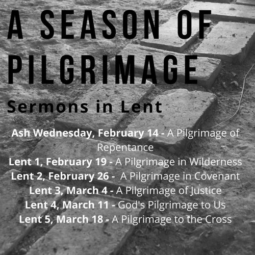 Lent 1 - A Pilgrimage in the Wilderness