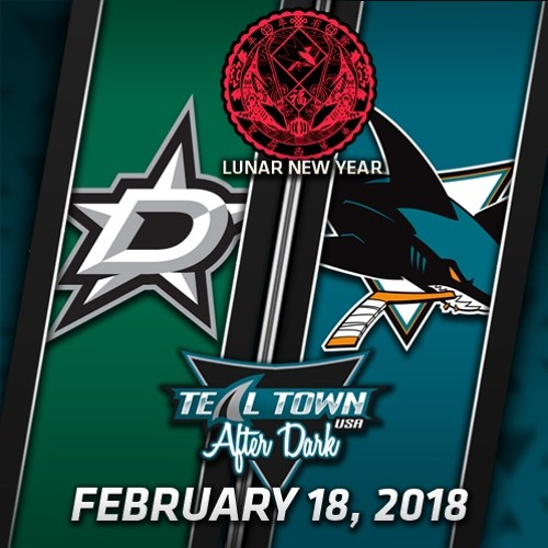 Teal Town USA After Dark (Postgame) Sharks vs Stars -  2-18-2018