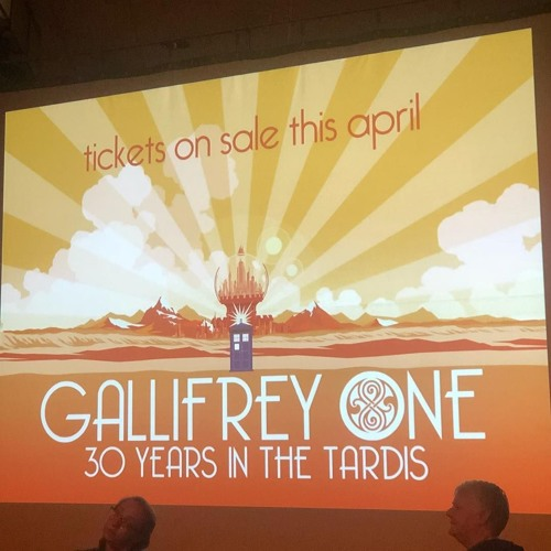 PODcastica - Episode 118: Gallifrey One Day 3 Recap & NEW LOGO REACTIONS!