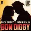 Zack Knight X Jasmin Walia - Bom Diggy (LANZI Remix)[FREE DOWNLOAD FOR FULL SONG]