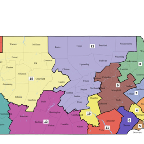 Greg Giroux On the Pennsylvania Congressional Map with Bloomberg Radio