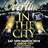 OverTime IN THE CITY PROMO MIX CD MIXED BY DJ SCYTHER & BILLGATES