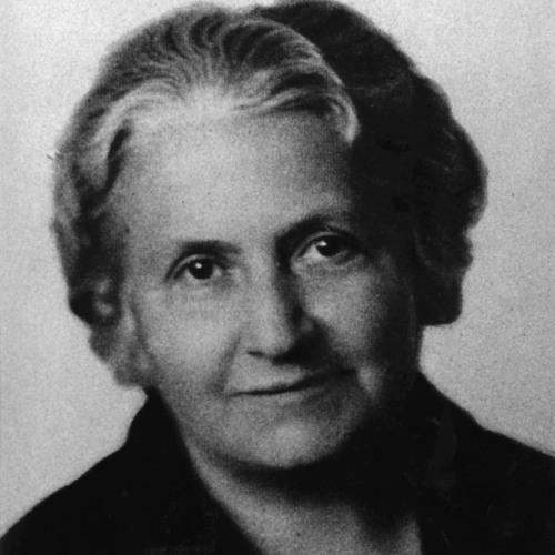 María Montessori por Laura