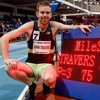 John Travers - First Irish Man To Run A Sub-Four Minute Mile Indoors In Ireland