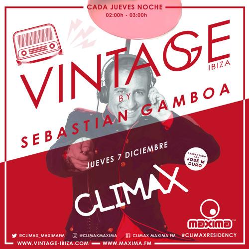 Sebastian Gamboa Climax Radio Show Diciembre 2017