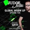 Judge Jules & Boehm - Global Warmup 729 2018-02-23 Artwork