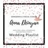 'Ave Maria' (Bach/Gounod) live Anna Déinyan (voice) & Adrian Czarnecki (piano)
