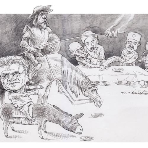 مهمانی رضا علامهزاده؛ «انسانگرایی و وطندوستی»