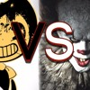 Bendy And The Ink Machine Vs IT Movie Rap Battle ¦ Bendy VS Pennywise ¦ Rockit Gaming