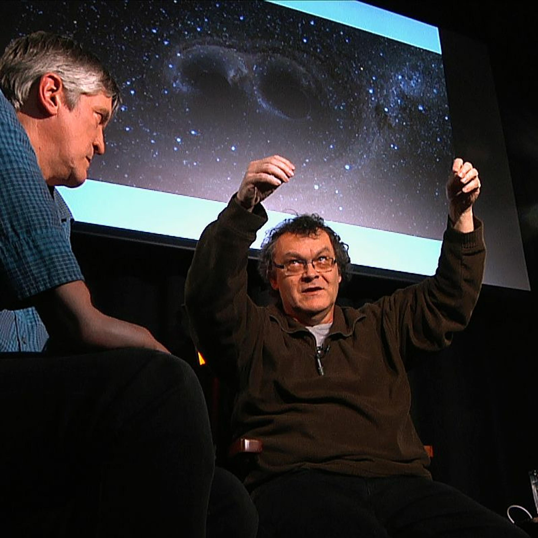 .pod lampou: Zázrak gravitačných vĺn