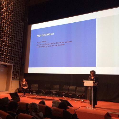 Matinée-débat « L'architecture pour le logement » - Clôture