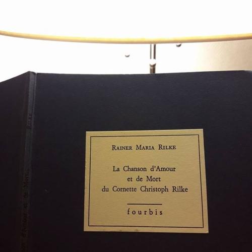 Rainer Maria Rilke Quotla Chanson Dx27amour Et De Mort