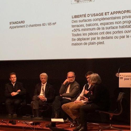 Matinée-débat « L'architecture pour le logement » - Architecture et logement : retour d'expériences