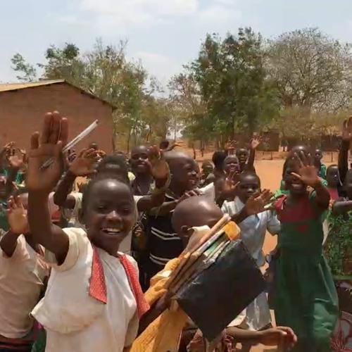 Mwaza Primary School Warm Welcome