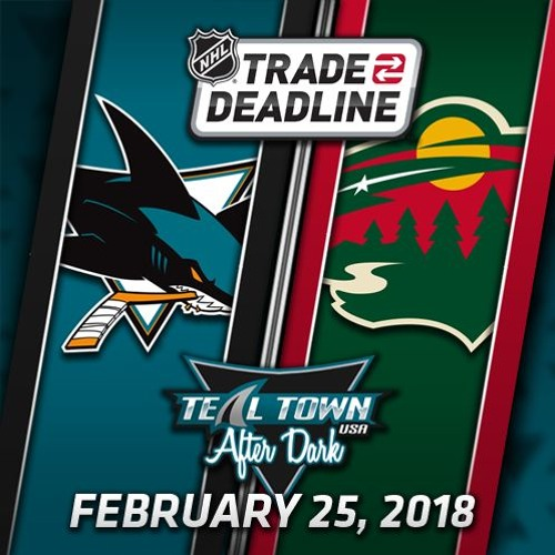 Teal Town USA After Dark (Postgame) Sharks @ Wild - 2-25-2018