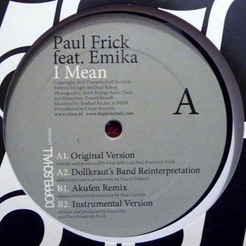 Paul Frick feat. Emika - I Mean