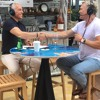 Sam Champion and Geoffrey Zakarian share behind-the-scenes secrets of food segments on morning TV