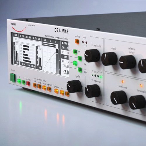 Weiss DS1-MK3 plug-in - Softube