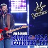 Sunny Country's Jay & Jessie with NBC's The Voice star Pryor Baird