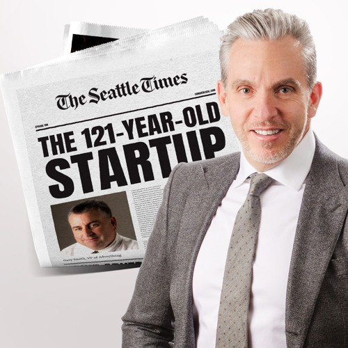 108: Print Isn't Dead at the Seattle Times (The 121-Year-Old Startup) — with Gary Smith