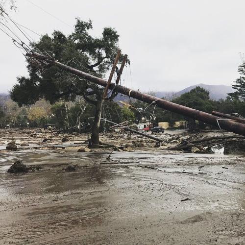 Authorities in Santa Barbara say stay prepared for mandatory evacuations