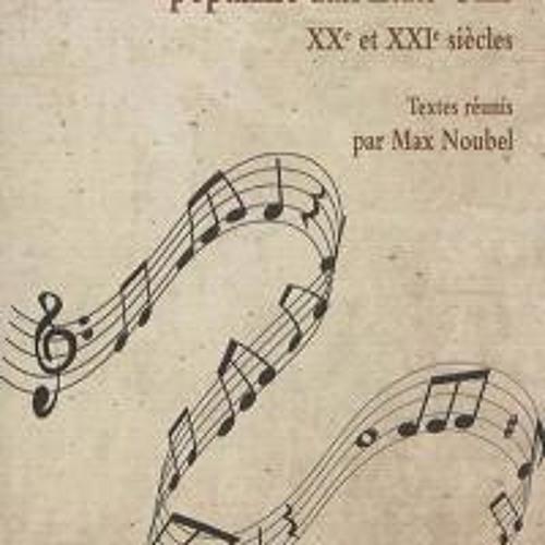 """Max Noubel présente """"Musique savante et musique populaire aux Etats-Unis"""""""