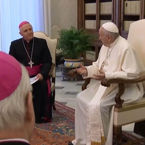 Msgr. Stanislav Zore o srečanju s papežem Frančiškom