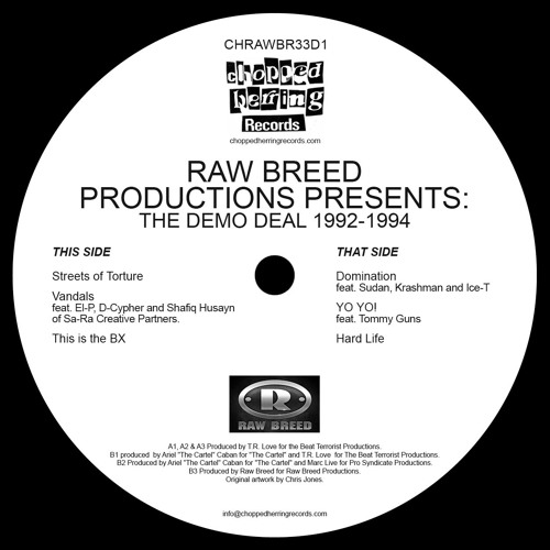 Raw Breed feat. Ice-T & T.R.Love - The Demo Deal EP