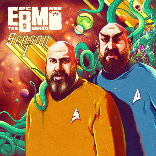 """SPACE GHETTOS"" - Epic Beard Men [Season 1 EP]"
