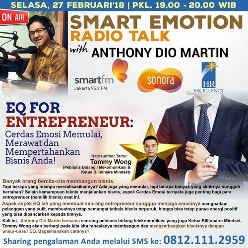 "Smart Emotion 27 Februari 2018: ""EQ for Entrepreneur"""