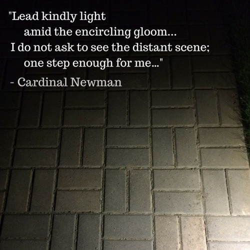 Guidami tu, luce gentile (canto liturgico su preghiera di J.H.Newman, di Achille Tronconi)