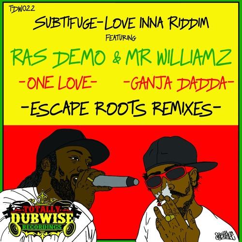 Love Inna Riddim ft Ras Demo & Mr Williamz-Escape Roots Remixes-(TDWR022)
