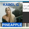 Karol G - Pineapple - Piano Cover by Virginia Anton