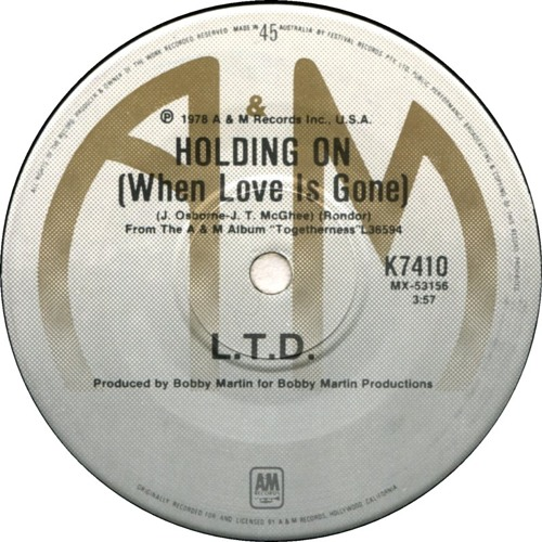 L.T.D - Holdin On (When Love Is Gone) (FunkyDeps Edit)
