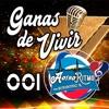 001 Ganas de Vivir - A OTRO RITMO Portada del disco