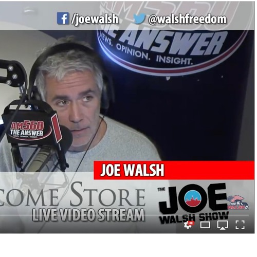Joe Walsh Show - Feat: James Mendrick Candidate For DuPage Sheriff