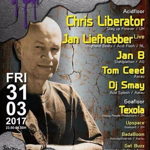 Chris Liberator - 2017-03-31 - Live @ Schlaflos - Acid Splash, Aarau, Switzerland